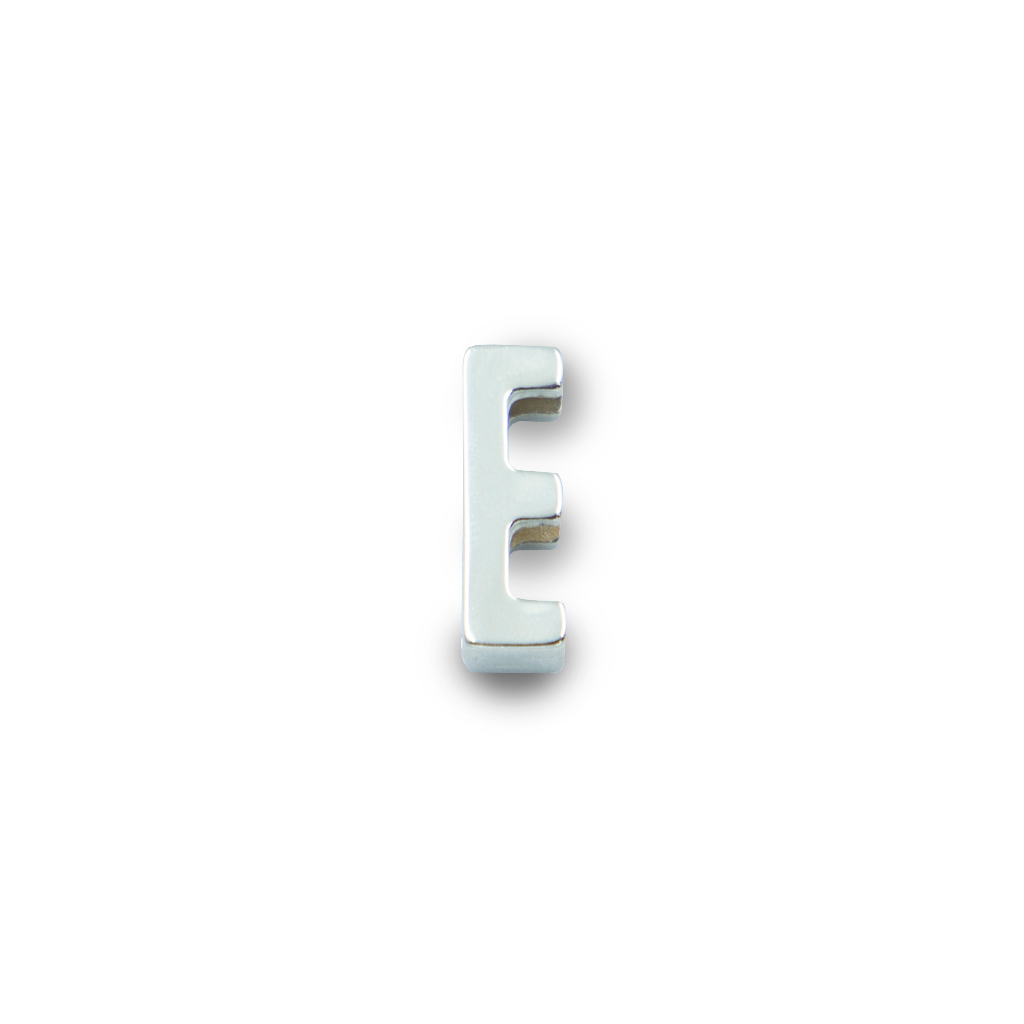 Charms Letra E