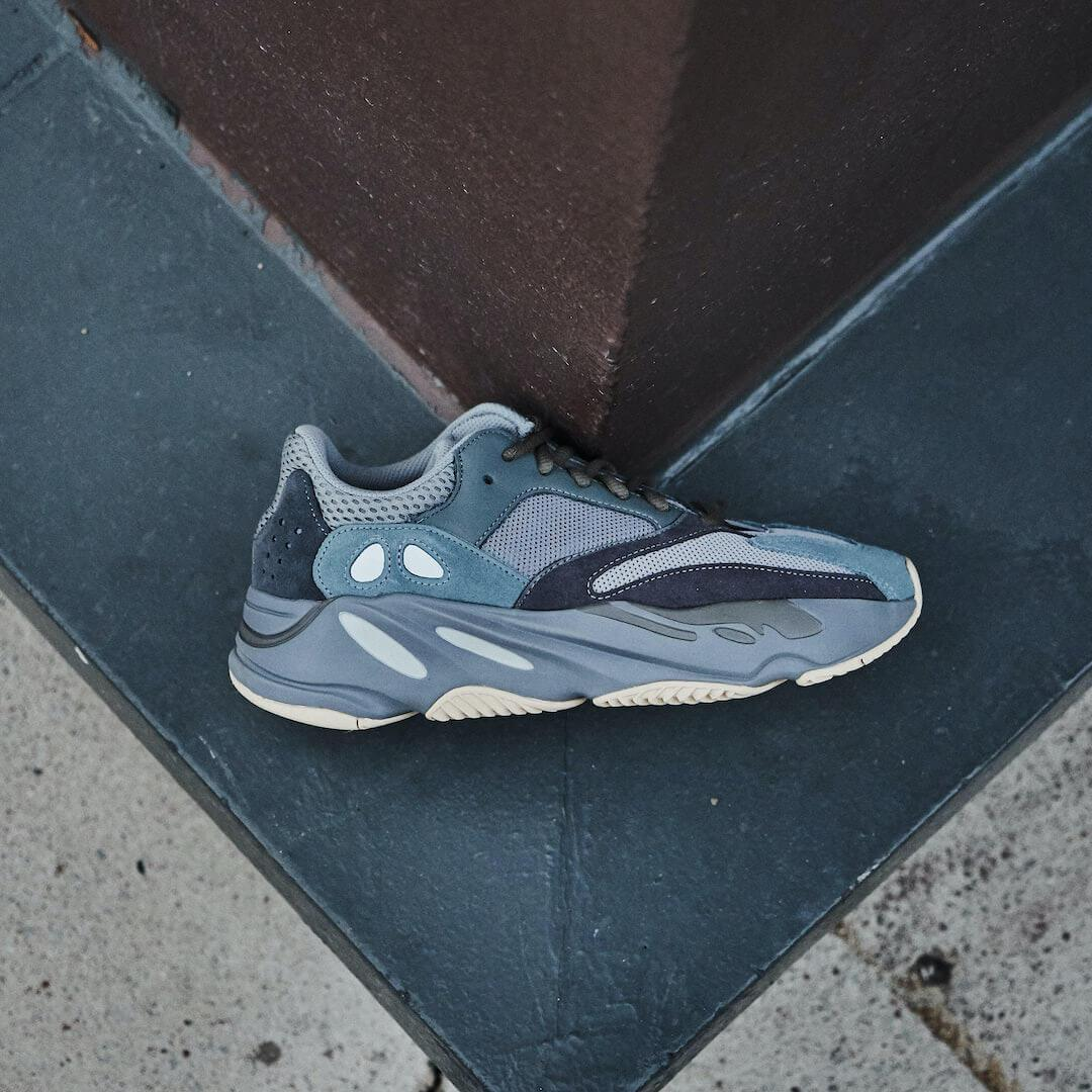 Adidas Yeezy 700 Teal Blue