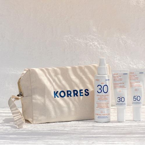 Korres Dein Geschenk GREEK SUMMER BAG 3