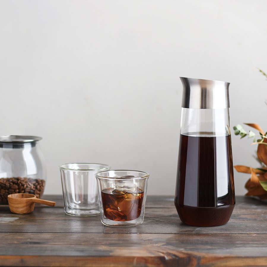 KINTO LUCE COLD BREW CARAFE 1L CLEAR THUMBNAIL 1