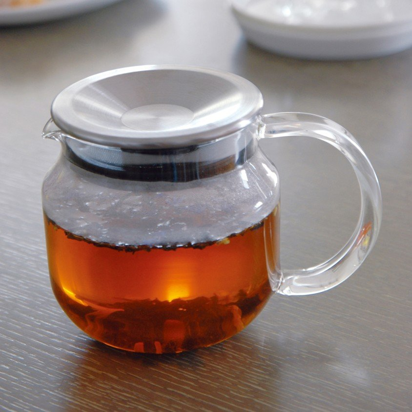 KINTO ONE TOUCH TEAPOT 450ML CLEAR