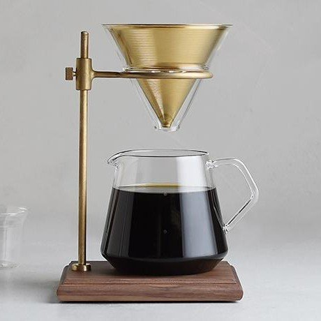 KINTO SCS SPECIALTY S02 BREWER STAND SET 4 CUP GOLD THUMBNAIL 1