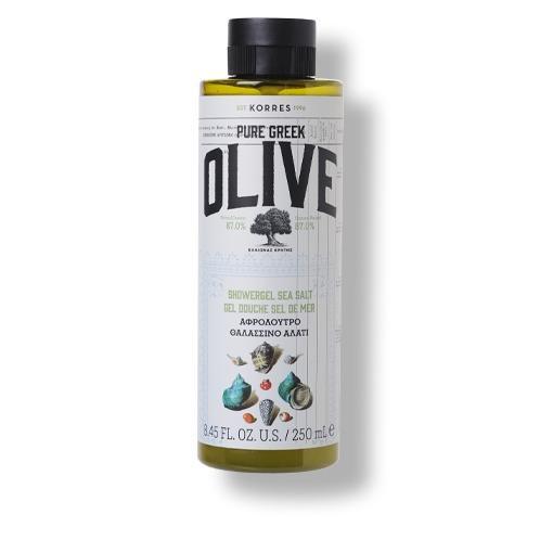 Korres Set Pure Greek Olive & Sea Salt Körperpflege Vorteilset-Set 2