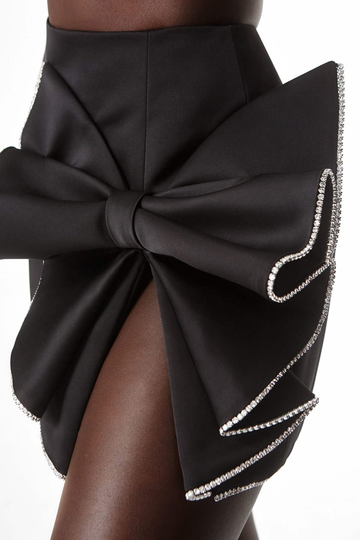 Sculpted Bow Skirt