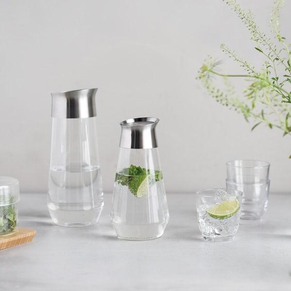 KINTO LUCE GLASS BOTTLE 1L CLEAR THUMBNAIL 1