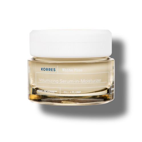 Korres TagescremeWhite Pine Meno Reverse™ Volumengebende Serum-in-Creme für normale - reife Mischhaut nach den Wechseljahren 1