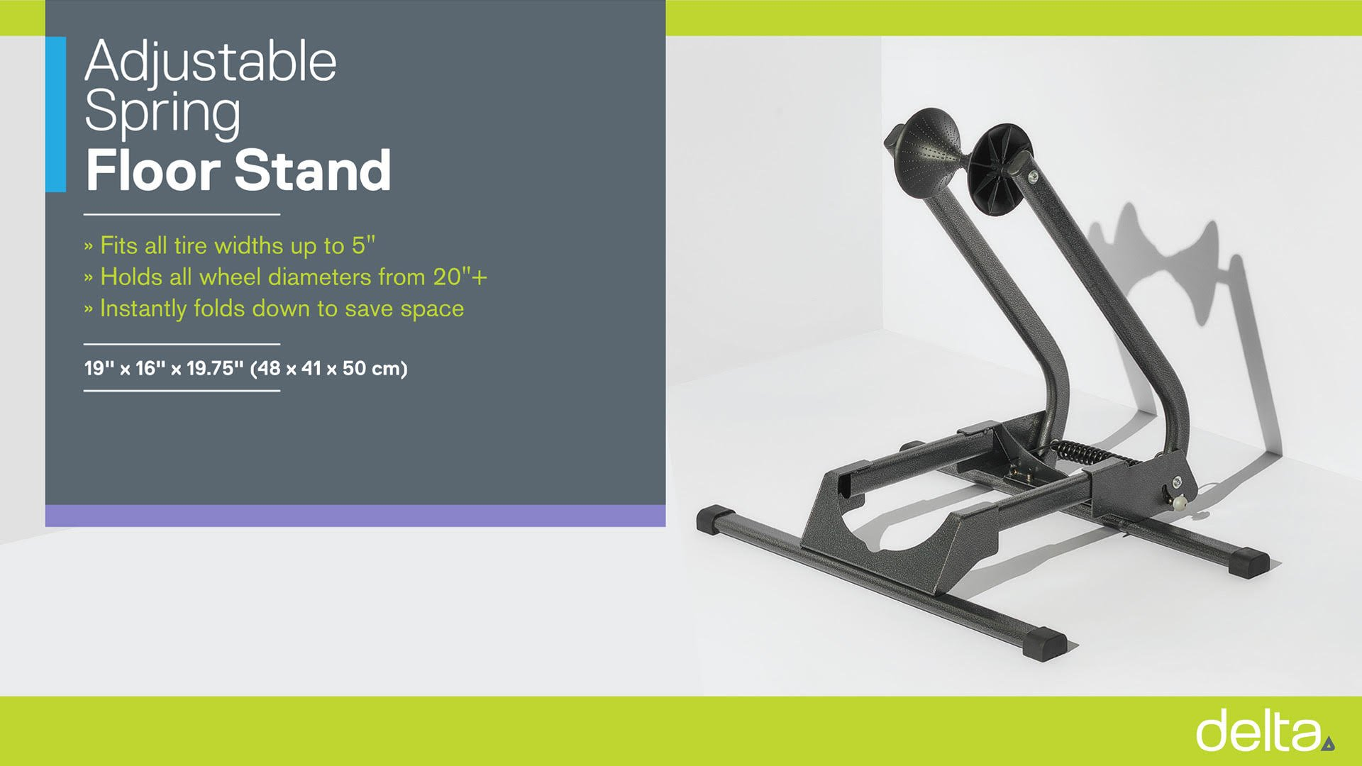 Adjustable Spring Floor Stand instructions