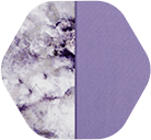 Plum Marble/Solid