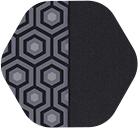Black Hex/Solid