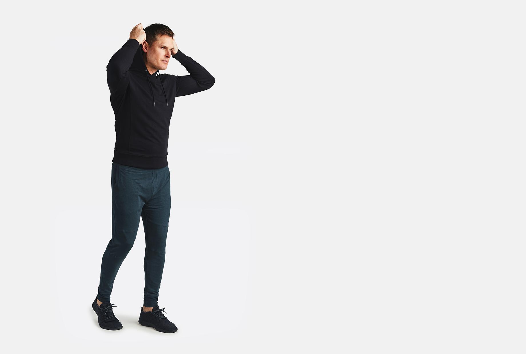 fleece hoodie tasc