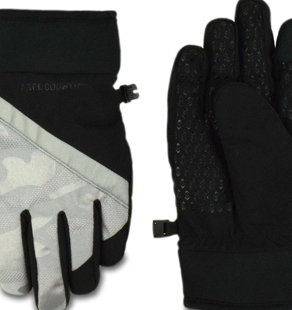 Boys' Solid and Camo Gloves