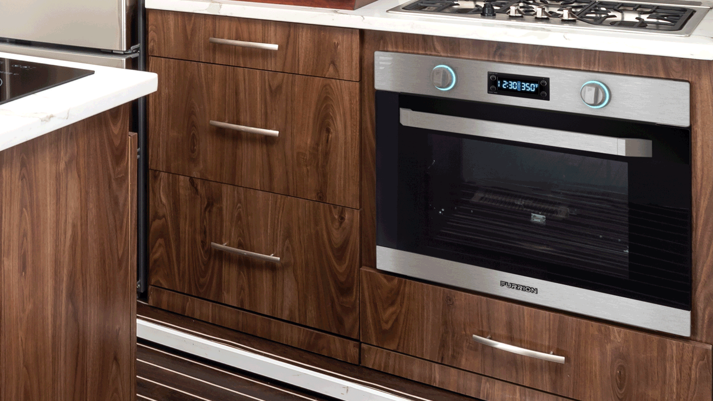 "21"" Furrion Chef Collection Built-in Electric Oven"