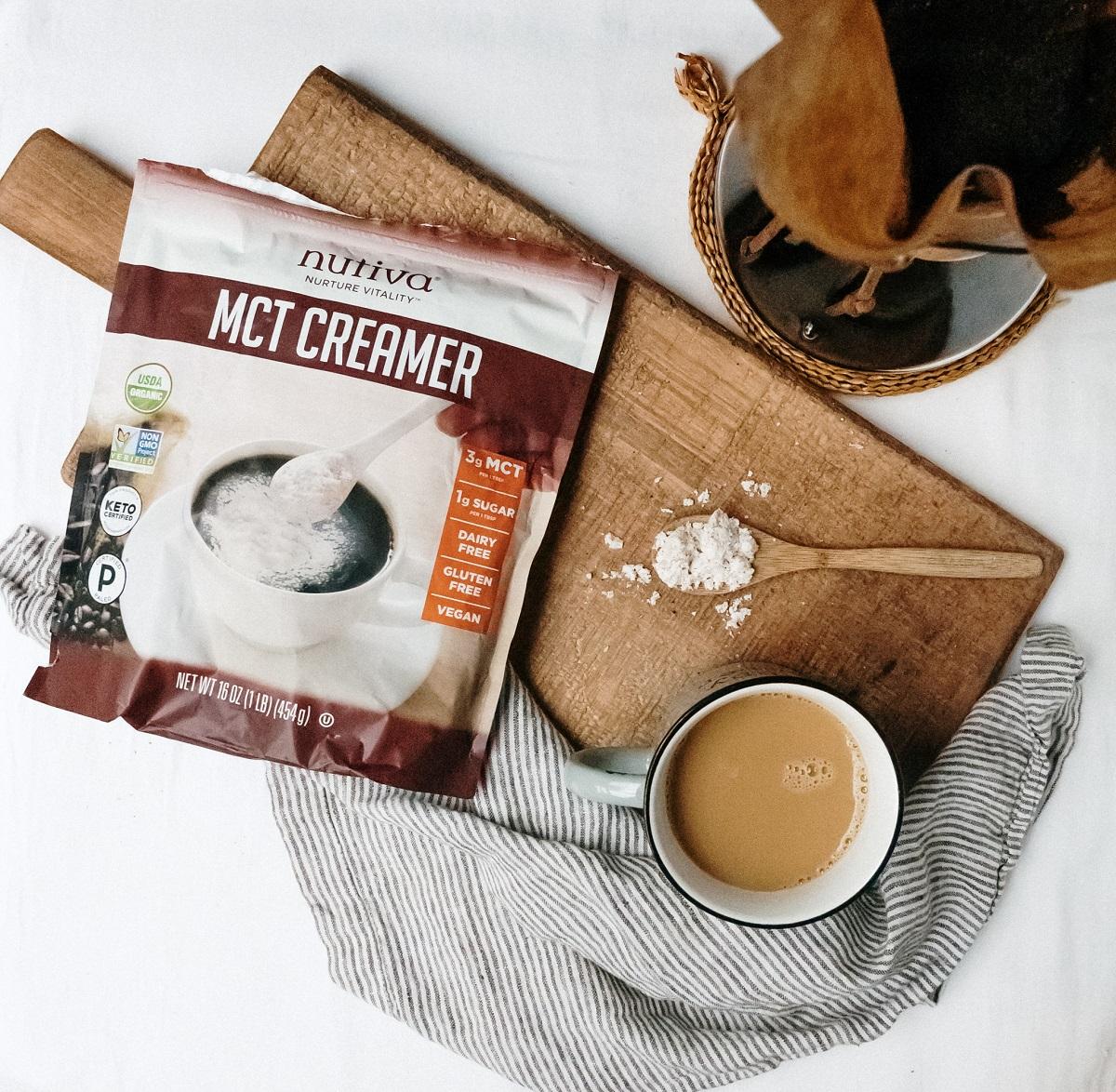 Organic MCT Creamer Lifestyle Image