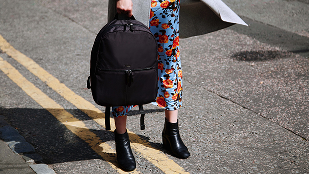 "KNOMO Berlin Laptop Backpack - 15"" Lifestyle Image |knomo.com"