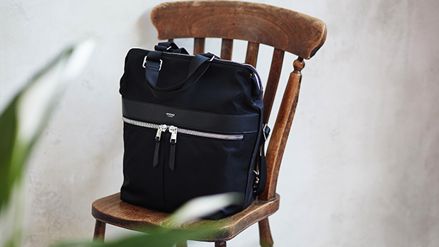 "KNOMO Gilbert Laptop Tote Backpack - 14"" Lifestyle Image 