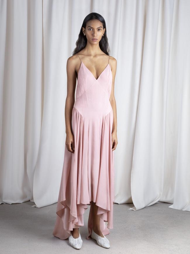 Maren Slip Dress Pink