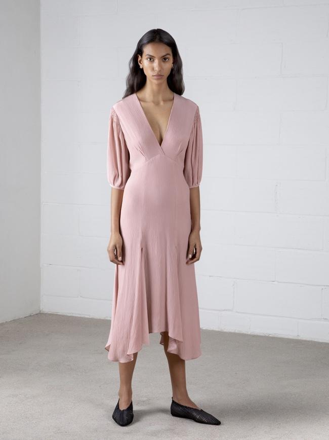 Riven Dress Pink