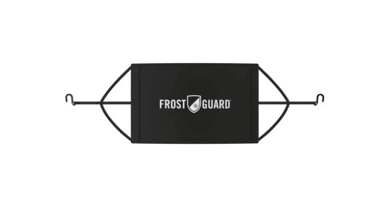 Protects from Snow Premium Winter Windshield Snow Cover with Security Panel and Wiper Cover X-Large, Black FrostGuard Ice and Frost