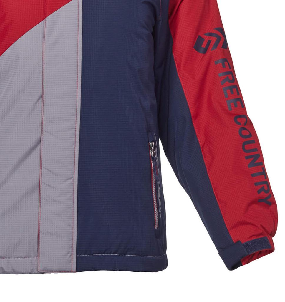 Boys' Balkan Multi Rip Stop Boarder Jacket
