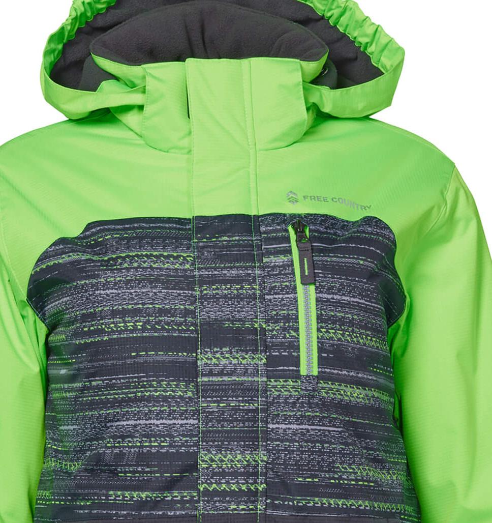 Boys' Ural Multi Rip Stop Boarder Jacket