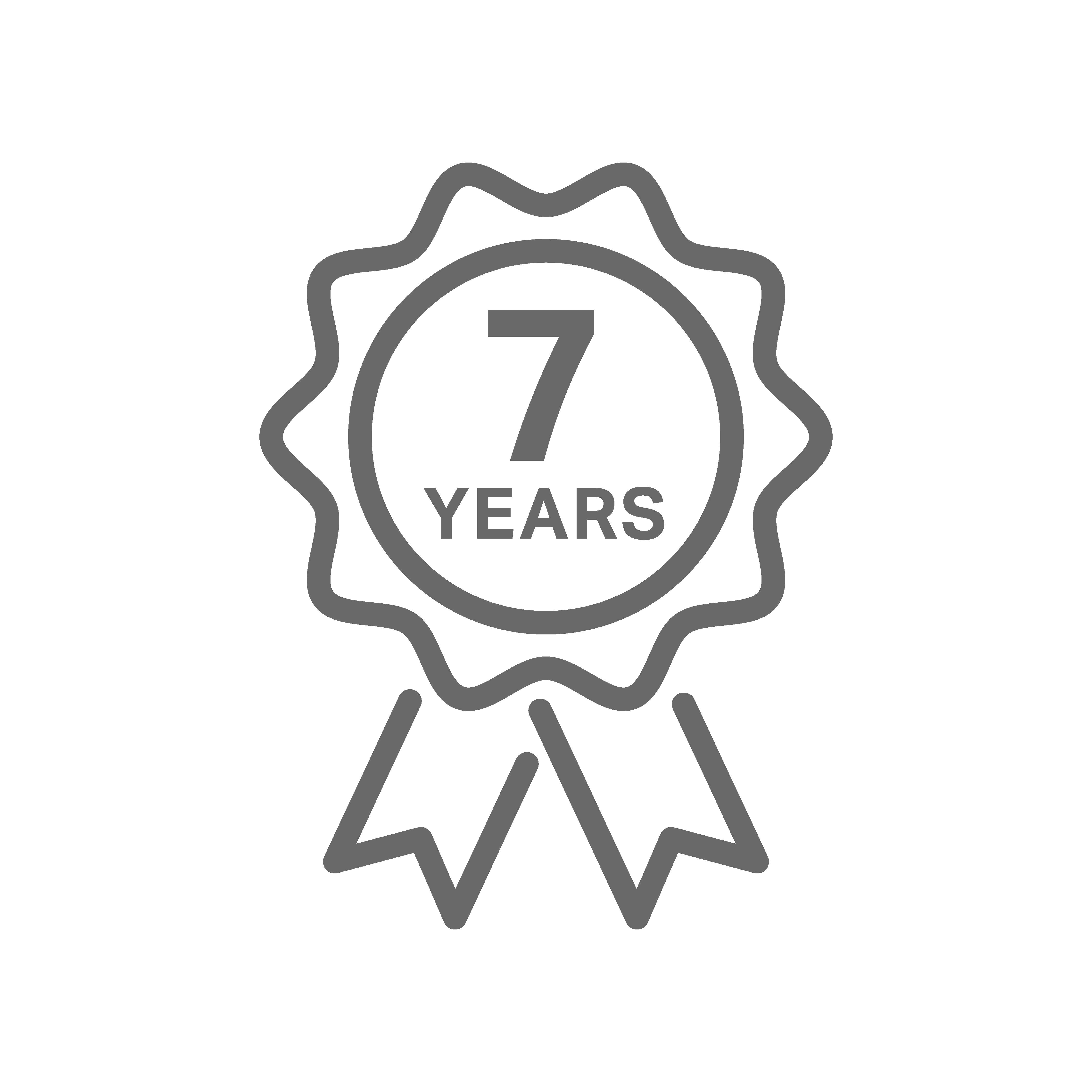 7-Year Warranty
