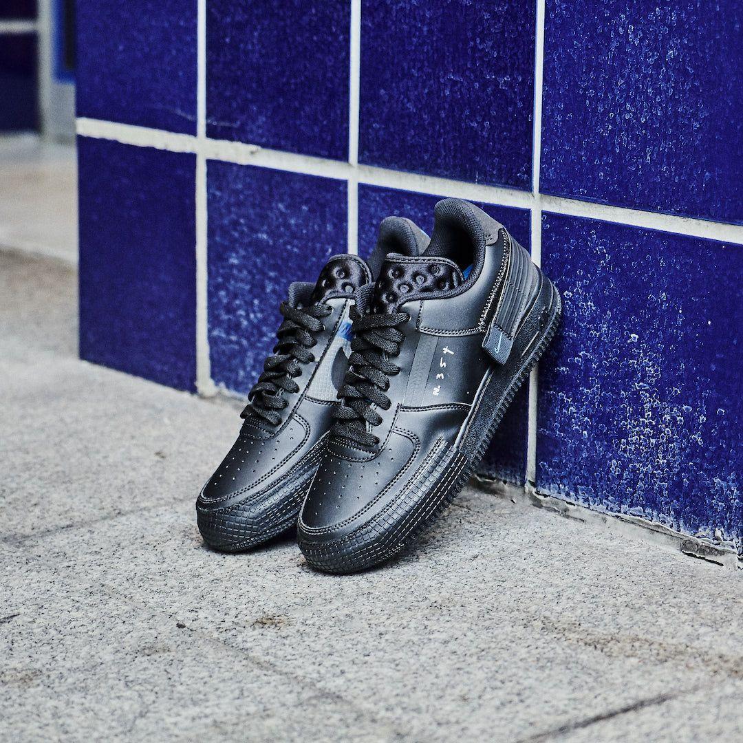 Nike Air Force 1 Drop Type Triple Black