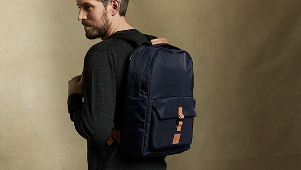"KNOMO Christowe 15"" Backpack Lifestyle Image |knomo.com"