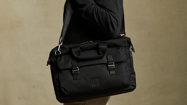 "KNOMO Tournay Laptop Briefcase - 15"" Lifestyle Image |knomo.com"