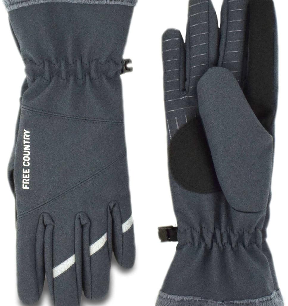 Women's Solid Softshell Glove