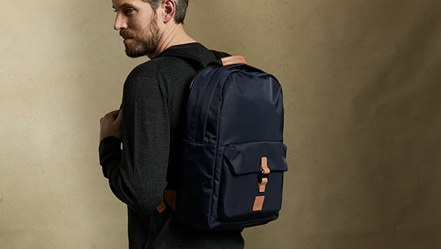 "KNOMO Christowe Laptop Backpack - 15"" Lifestyle Image 