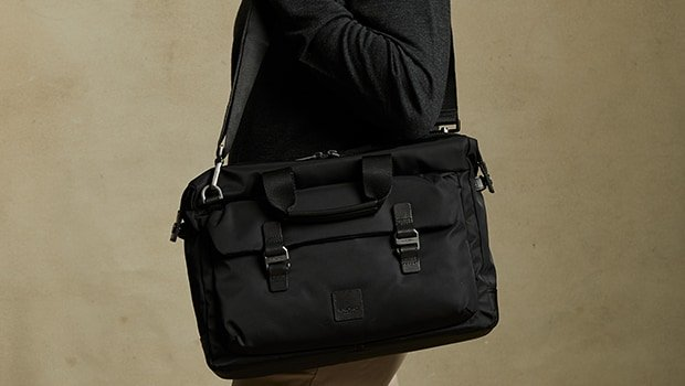 "KNOMO Tournay Laptop Briefcase - 15"" Lifestyle Image 