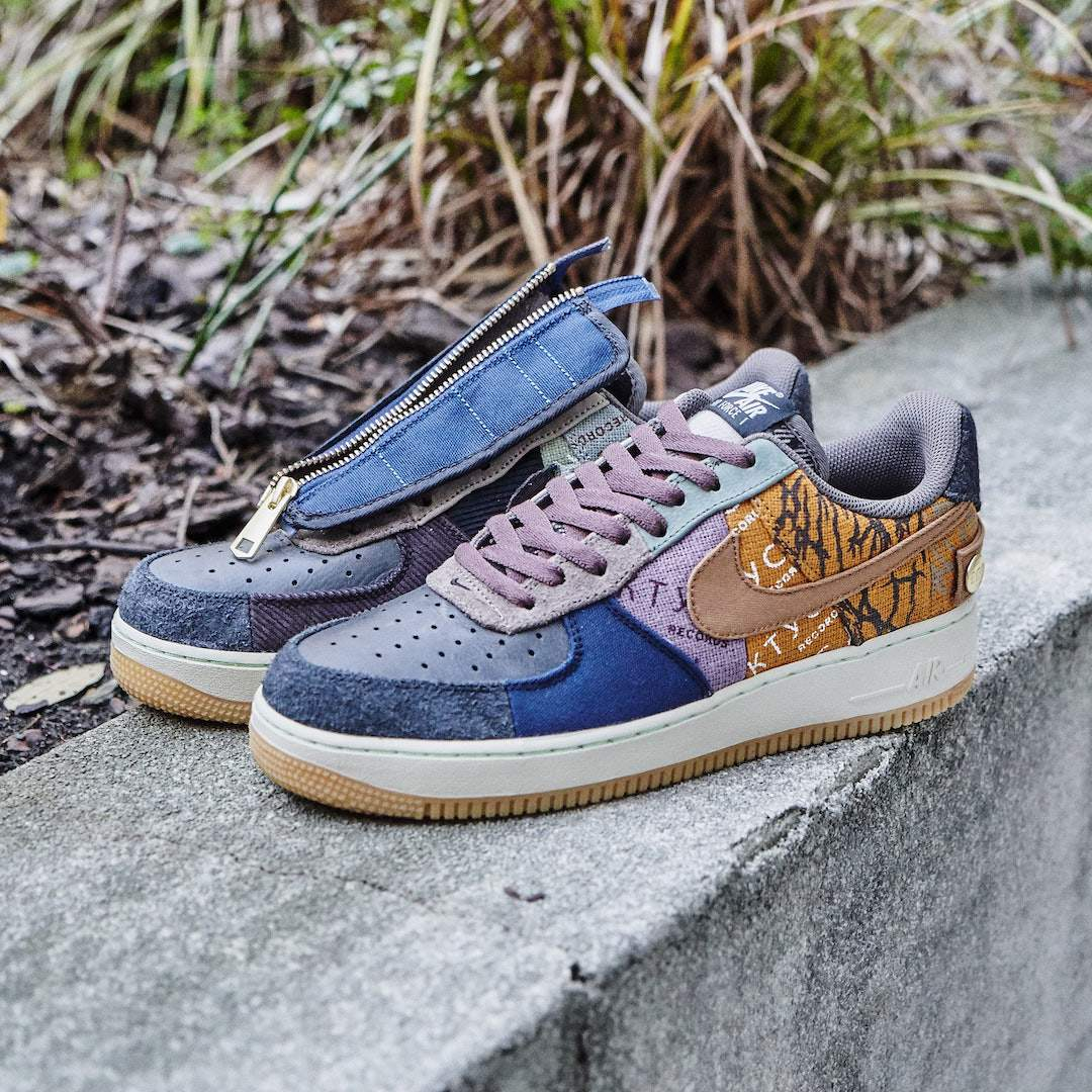 Nike Air Force 1 Low Fossil Travis Scott