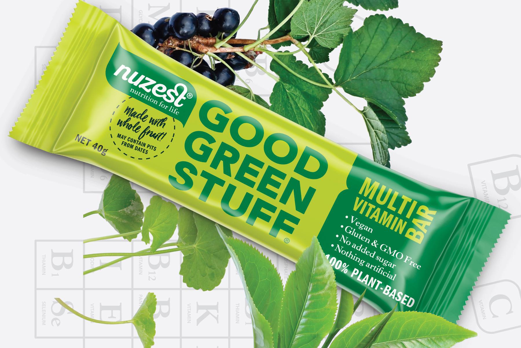 Good Green Stuff Bars