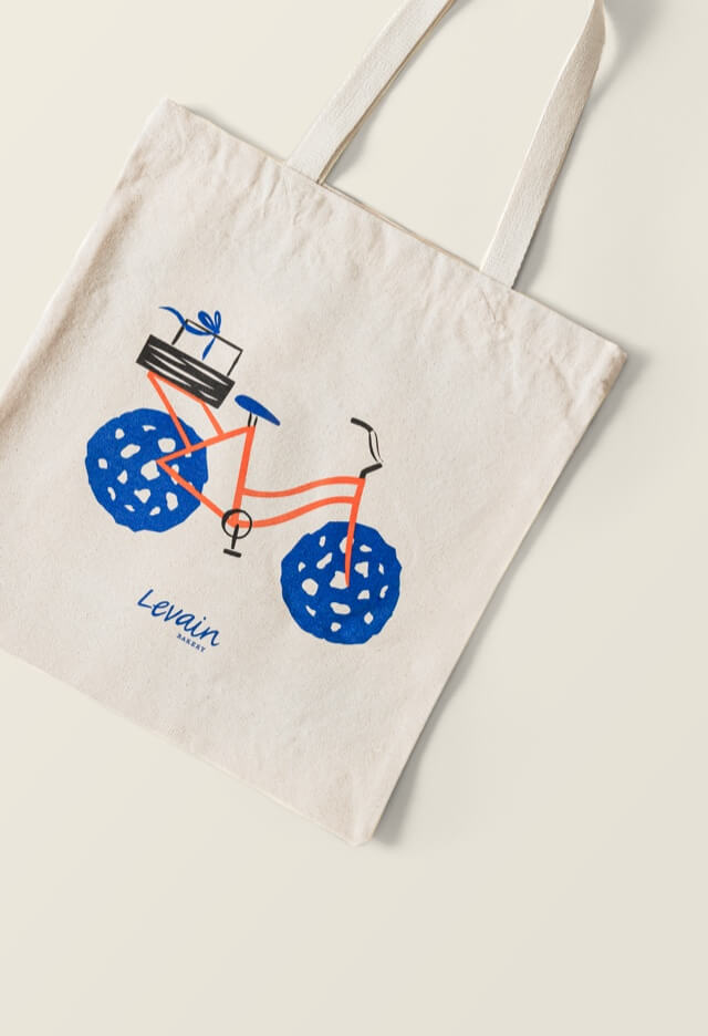 Levain Bakery ™ Bicycle Tote