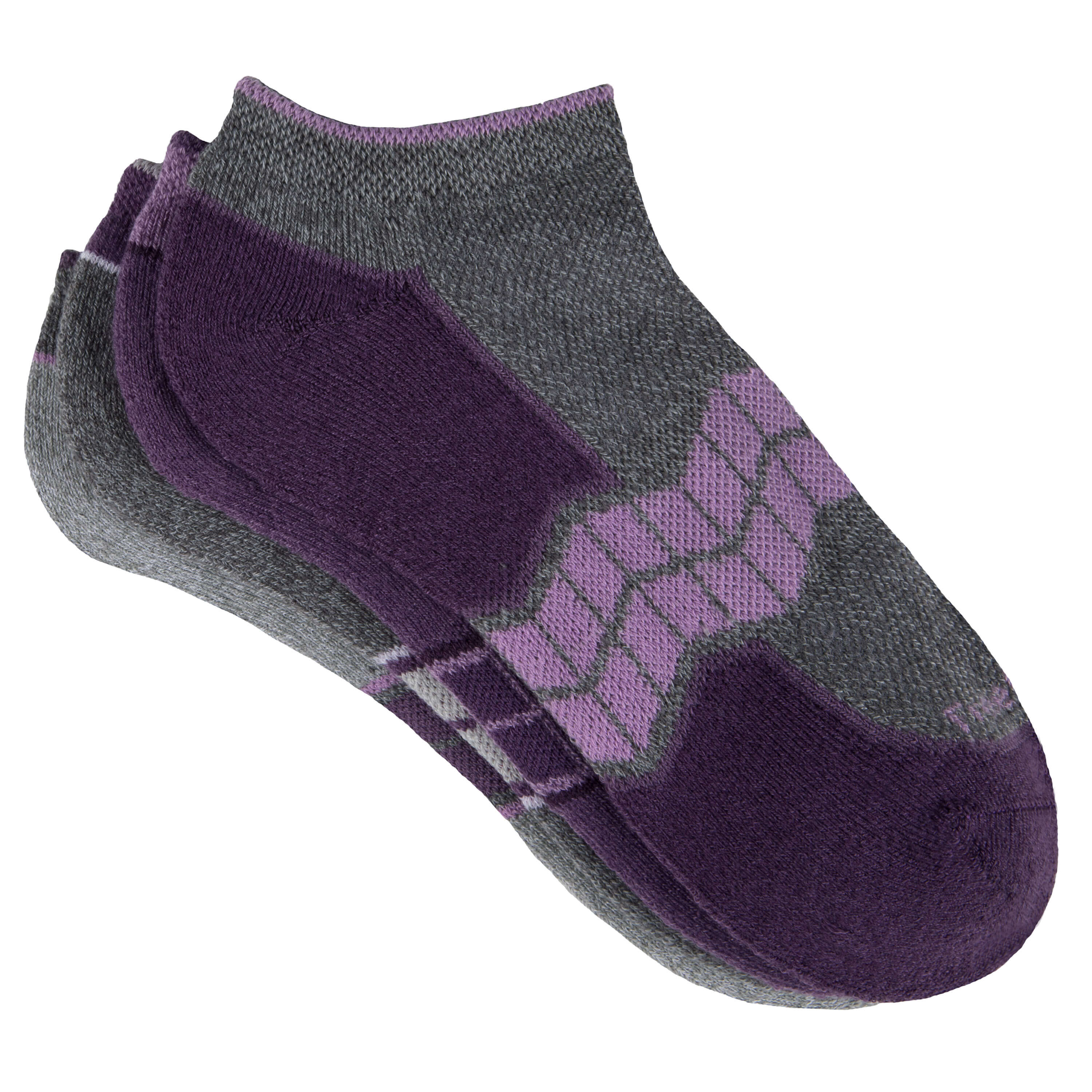 Women's Chevron Arch Pop No-Show Socks