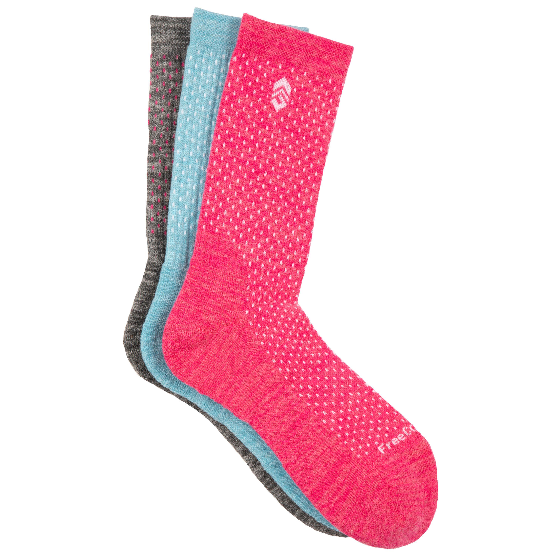 Women's Wool-Blend Pindot Crew Socks