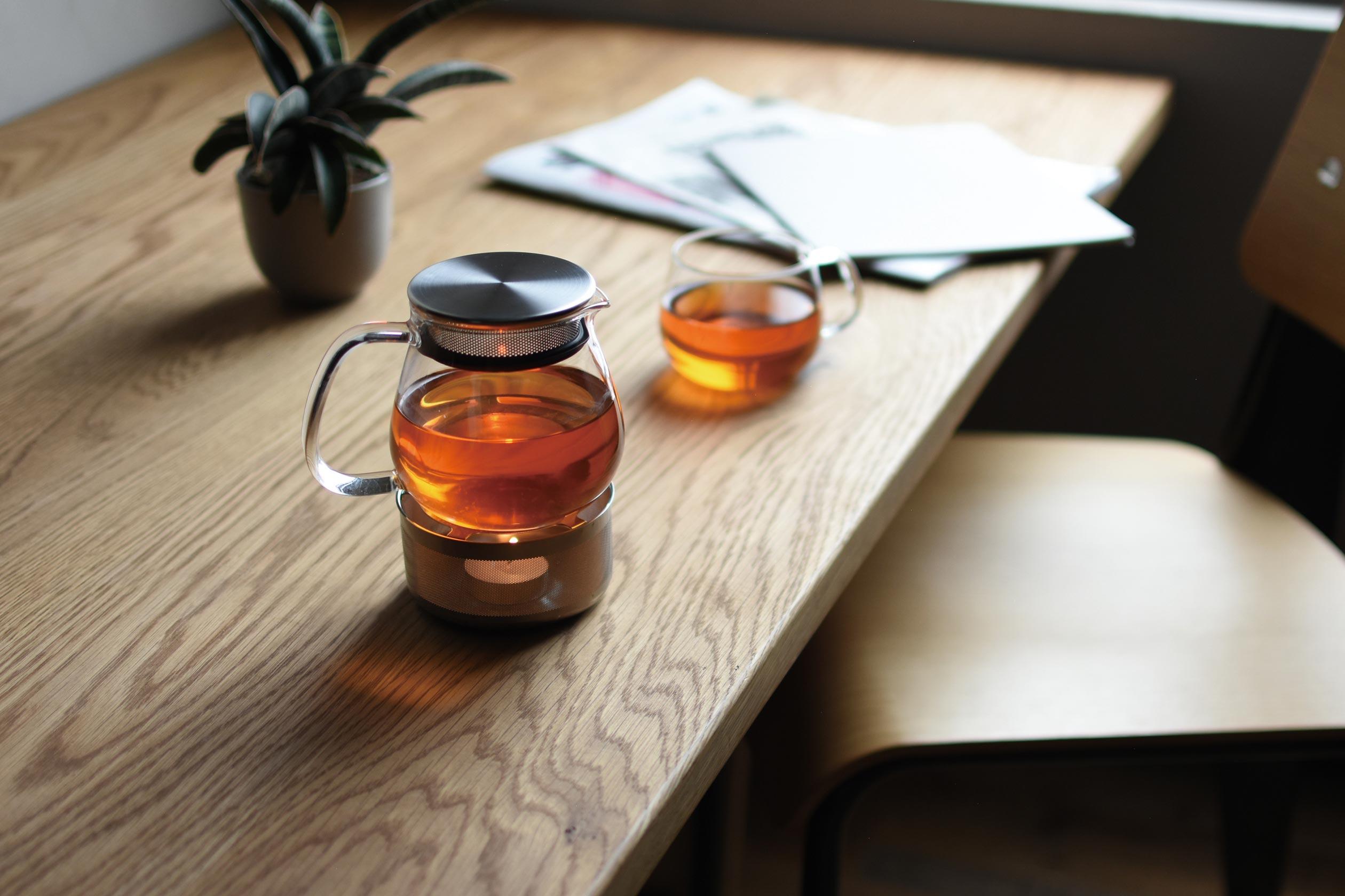 UNITEA Tea Pot, Transparent