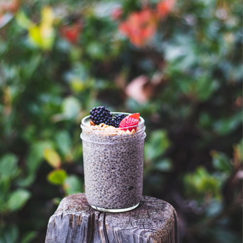 Superfood-Infused Nut Butter Chia Pudding | Butterfly