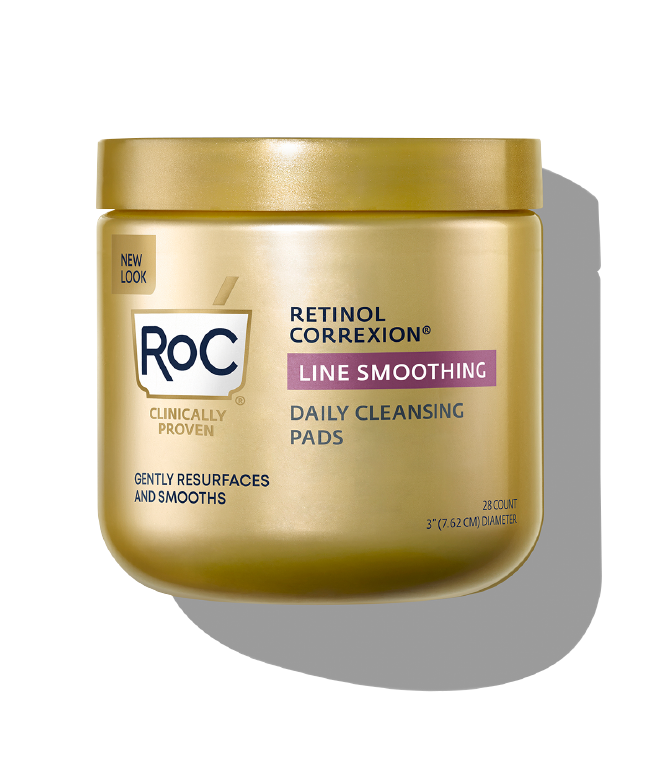 RETINOL CORREXION® Line Smoothing Daily Cleansing Pads