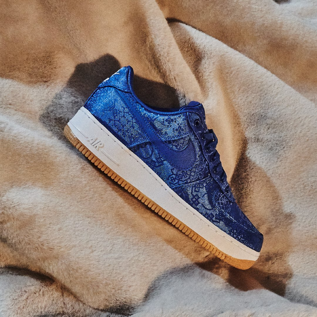 Air Force 1 Low Clot Blue Silk - CJ5290-400