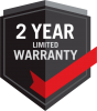 2 year limited Warranty
