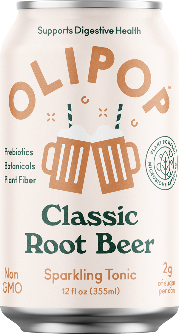 Classic Root Beer Olipop Can