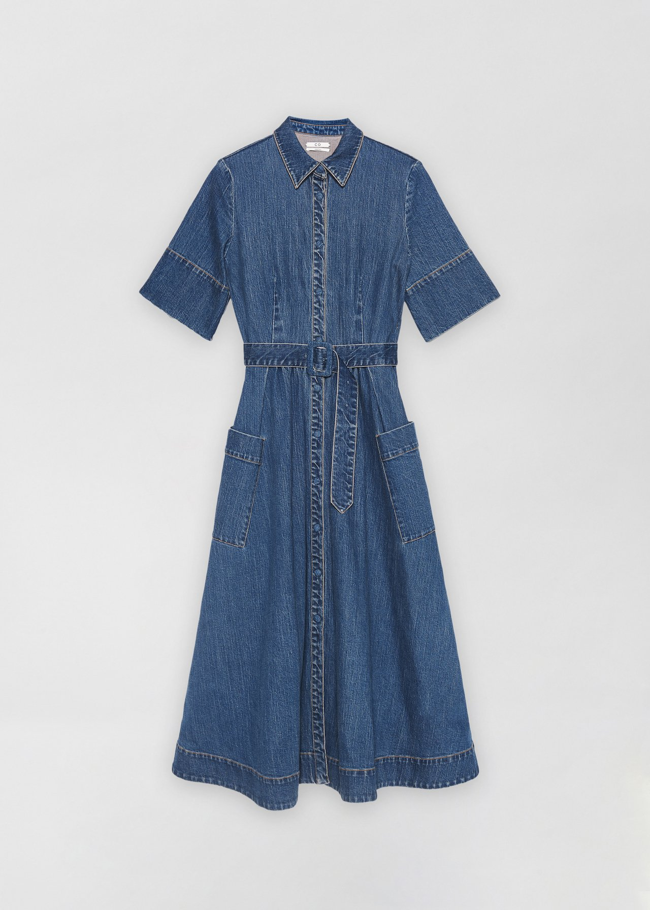 Denim Dress - Denim - CO