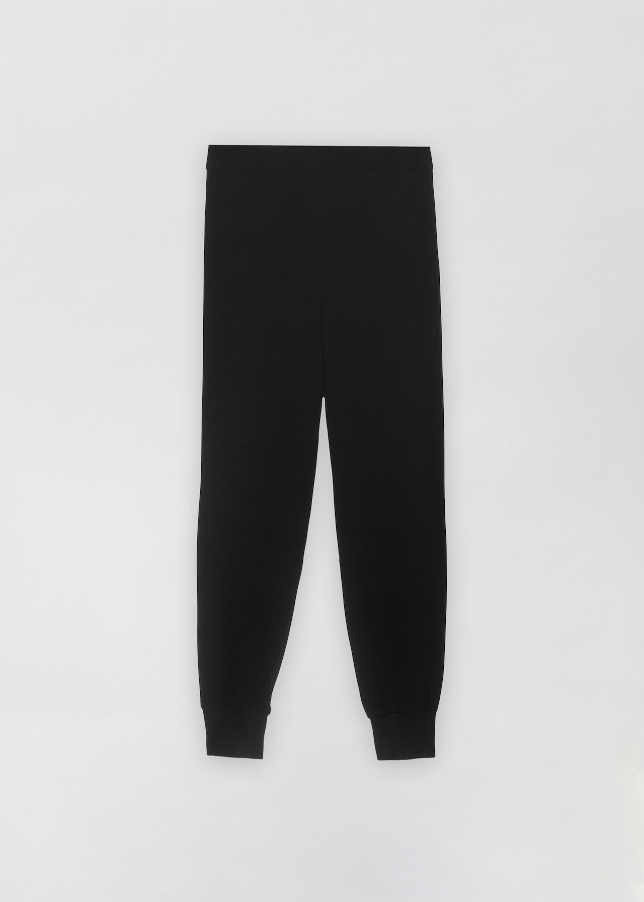 CO - Jogger Pant in Stretch Crepe - Black