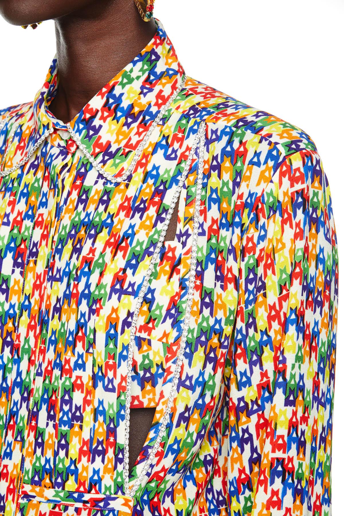 Crystal Tuxedo Shirt