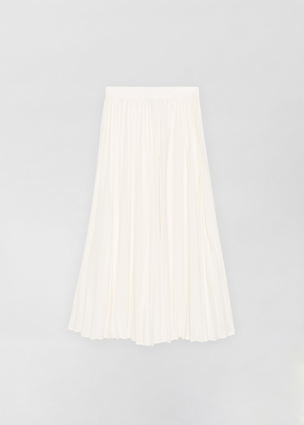 Pleated Skirt - Ivory - CO