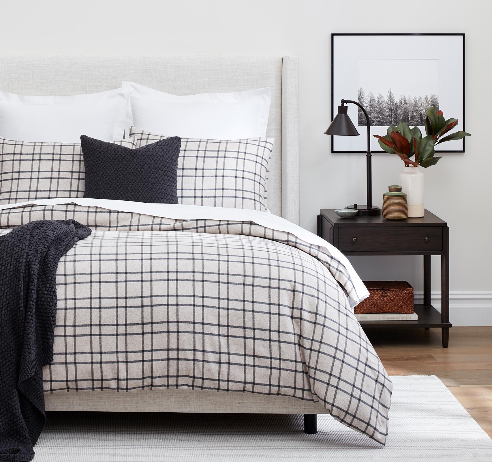 Oatmeal Cozy <br>Contemporary Bedroom header image