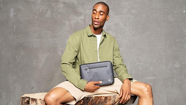 "KNOMO Thames Knomad Organiser Tech Organiser For Everyday - 10.5"" Lifestyle Image | knomo.com"