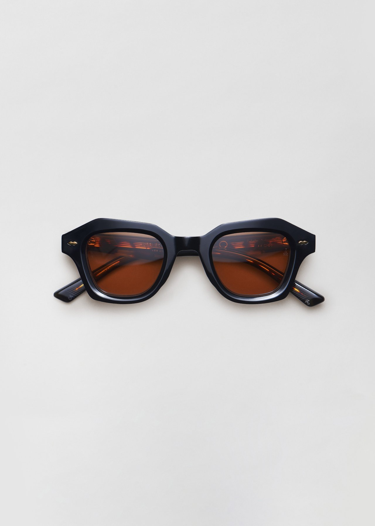 Schindler Sunglasses in Lava in Noir by Co Collections