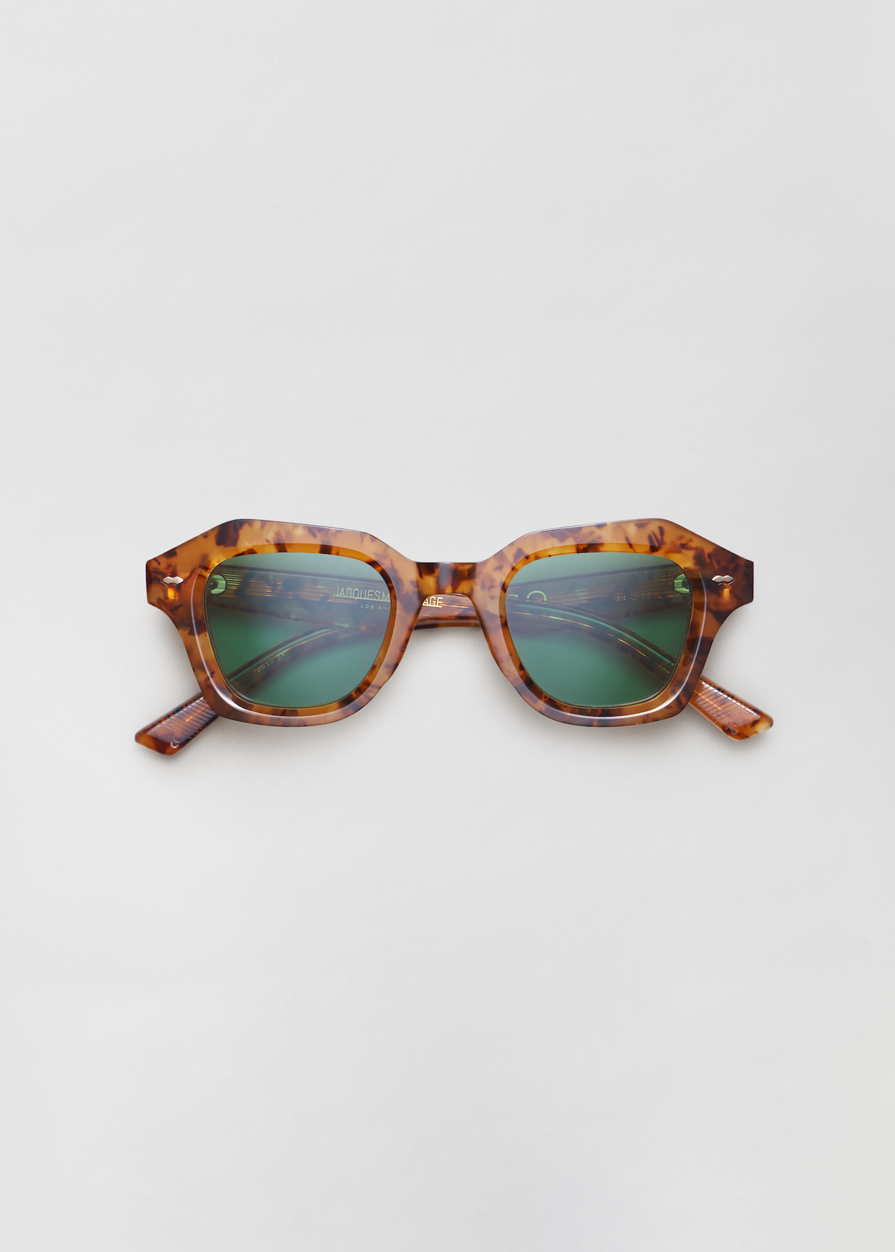 Schindler Sunglasses in Empire in Vintage Tortoise by Co Collections